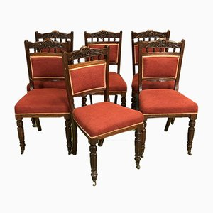 English 19th-Century Chairs, Set of 6
