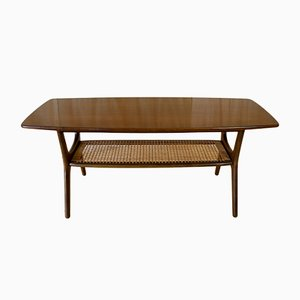 Large Vintage Teak Coffee Table