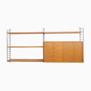Vintage Danish Shelving System by Kajsa & Nisse Strinning for String
