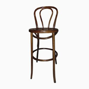 Vintage High Chair in Bentwood