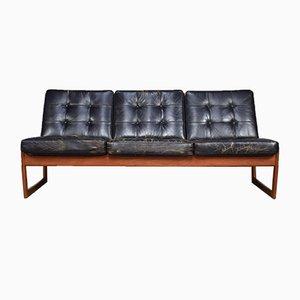 Modell FD130 Sofa von Peter Hvidt & Orla Mølgaard-Nielsen für France & Søn