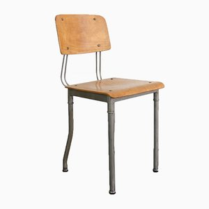 Modernist Prototype Industrial Chair by Robert Wagner for Rowac, 1920s