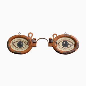 Zinc Industrial Opticians Trade Sign, 1920s