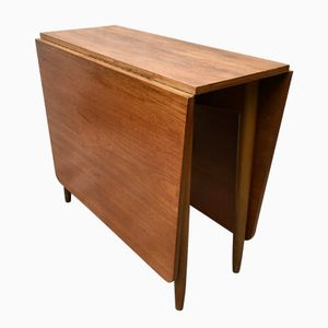 Mid-Century Drop Leaf Teak Table