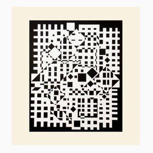 Cintra-Neg Print by Victor Vasarely for Denise René, 1975
