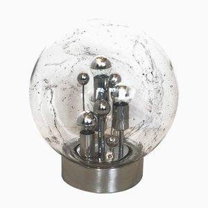 Sputnik Bubble Glas Tischlampe von Doria Leuchten, 1970er