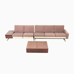 Canapé Modèle Pluraform Modern avec Tables Basses Mid-Century par Rolf Benz, 1964