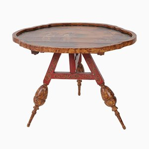 Antique Dutch Provincial Tilt-Top Table, 1900s