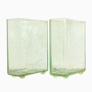 Rechteckige Vintage Glas Batterie Box