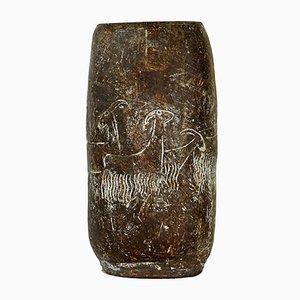 Keramik Vase von Karen Karnes, 1960er