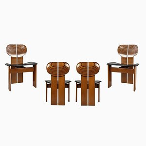 Africa Chairs by Afra & Tobia Scarpa for Maxalto, 1975, Set of 4