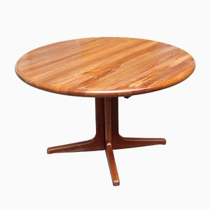 Mid-Century Extendable Teak Dining Table from Glostrup