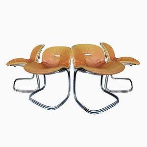 Sabrina Chairs by Gastone Rinaldi for Rima, 1970s, Set of 4
