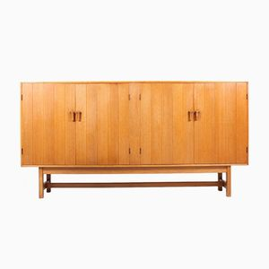 Cabinet in Solid Oak by Kurt Ostervig for KP Møbler, 1960s