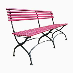 Vintage Collapsible Garden Bench