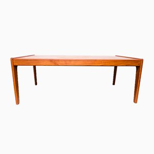 Teak Coffee Table by Arne Wahl Iversen for Komfort, 1960s