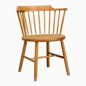 Vintage Oak Model 3249 Chair by Børge Mogensen for Fredericia