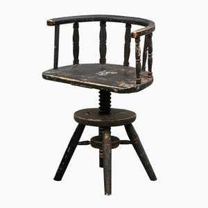 18th Century Swedish Swivel Chair