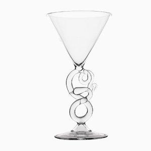 Verre à Martini de The Serpentine Collection par Simone Crestani