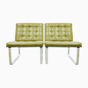Lounge Chairs by Ole Gerlov Knudsen & Torben Lind for Cado, 1960s, Set of 2