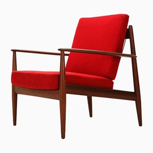 Model 118 Easy Chair by Grete Jalk for France & Daverkosen, 1950s