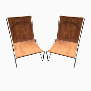 Bachelor Chairs by Verner Panton for Fritz Hansen, 1950s, Set of 2