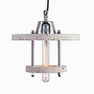 Levels 2CA Lampe aus grauem Zement von Adrian Purgał für Galaeria Factory