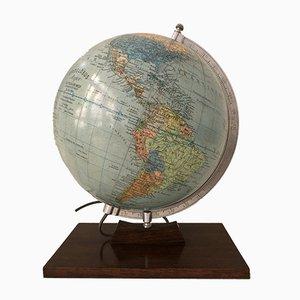 Illuminating Terrestrial Globe by Dietrich Reimer for Andrews & Steiner, 1954