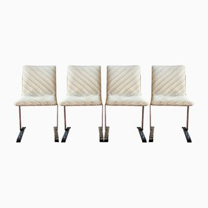 Dining Chairs by Giovanni Offredi for Saporiti Italia, 1970s, Set of 4