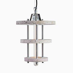 Levels 3CBA Lampe aus grauem Zement von Adrian Purgał für Galaeria Factory