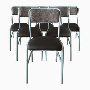 Industrielle Beistellstühle von Cannone, 6er Set