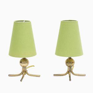 Tischlampen von Rupert Nikoll, 1950er, 2er Set