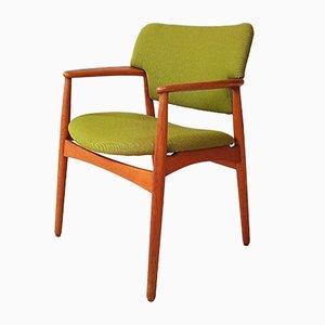 Model 4205 Armchair by Ejnar Larsen & Aksel Bender for Fritz Hansen, 1960s