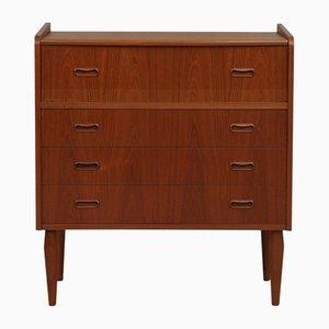 Teak Dresser with Hidden Vanity, 1950s