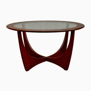 Mid-Century Round Teak Astro Coffee Table by Victor Wilkins for G-Plan
