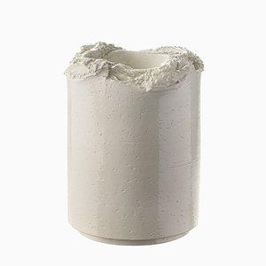 Torn Vase in Weiß von Formafantasma für Bitossi