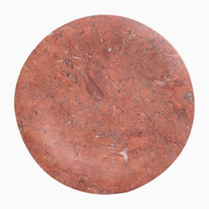 Bramante Rosso Mexico Red Marble Tray by Stories of Italy