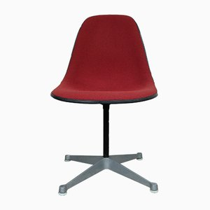 Vintage PSC-1 Side Chair with Swivel Base by Charles & Ray Eames for Herman Miller