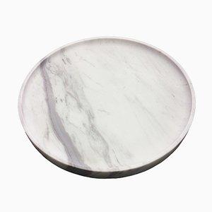 Plateau Dione en Marbre par Faye Tsakalides pour White Cubes
