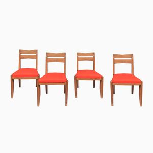Vintage Stühle von Guillerme & Chambron für Votre Maison, 4er Set
