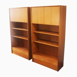 Mid-Century Shelving Units from G-Plan, 1970s, Set of 2