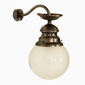 Wall Lamp in Burnished Brass by Luigi Caccia Dominioni, 1960s