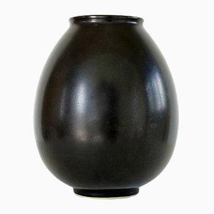 Vintage Keramik Vase von Jan Bontjes van Beek