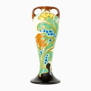 Vase Aida de Schoonhoven Keramik, Pays-Bas, 1920s
