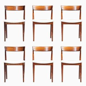 Dining Chairs by Henry Rosengren Hansen for Brande Møbelindustri, 1960s, Set of 6