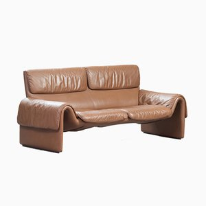 Model DS-2011 Leather Sofa from de Sede, 1980s