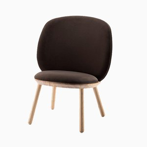 Naïve Low Chair in Brown by etc.etc. for Emko