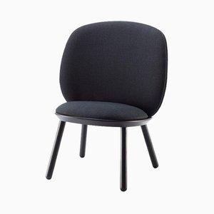 Naïve Low Chair in Black by etc.etc. for Emko