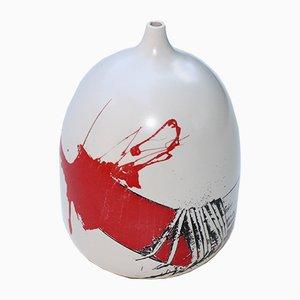 Keramik Vase von Emilio Scanavino, 1970er