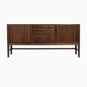 Vintage Rosewood Credenza by Ole Wanscher for A.J. Iversen